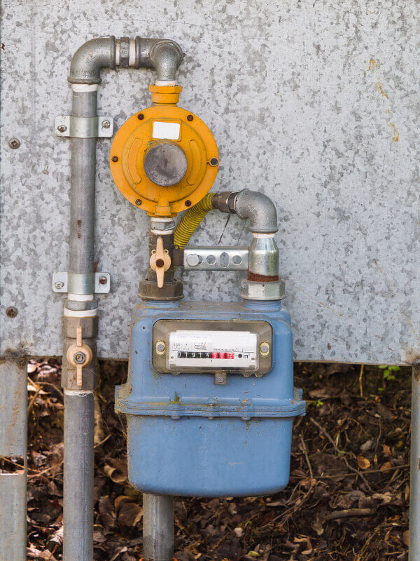 Gas Line Installation-External Gas Meter-National Economy Plumbers New Orleans