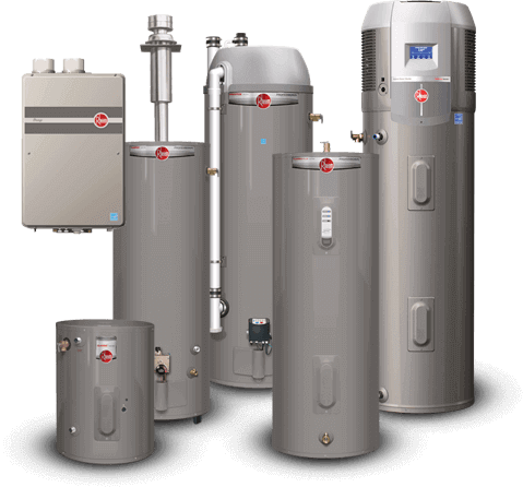 Rheem Water Heater Replacement-National Economy Plumbers New Orleans