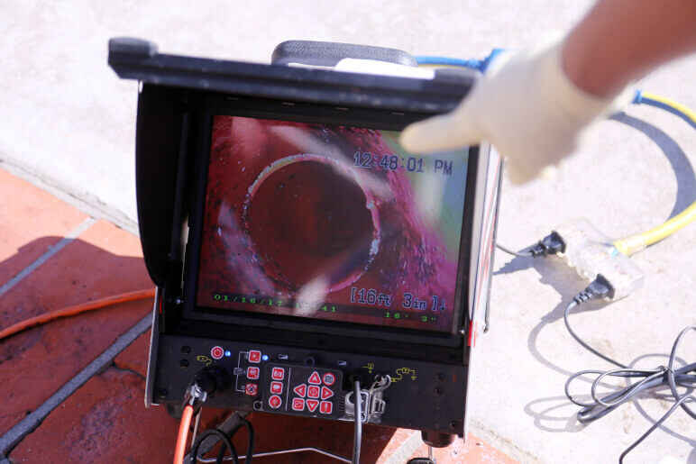 Sewer Camera Inspection-National Economy Plumbers New Orleans