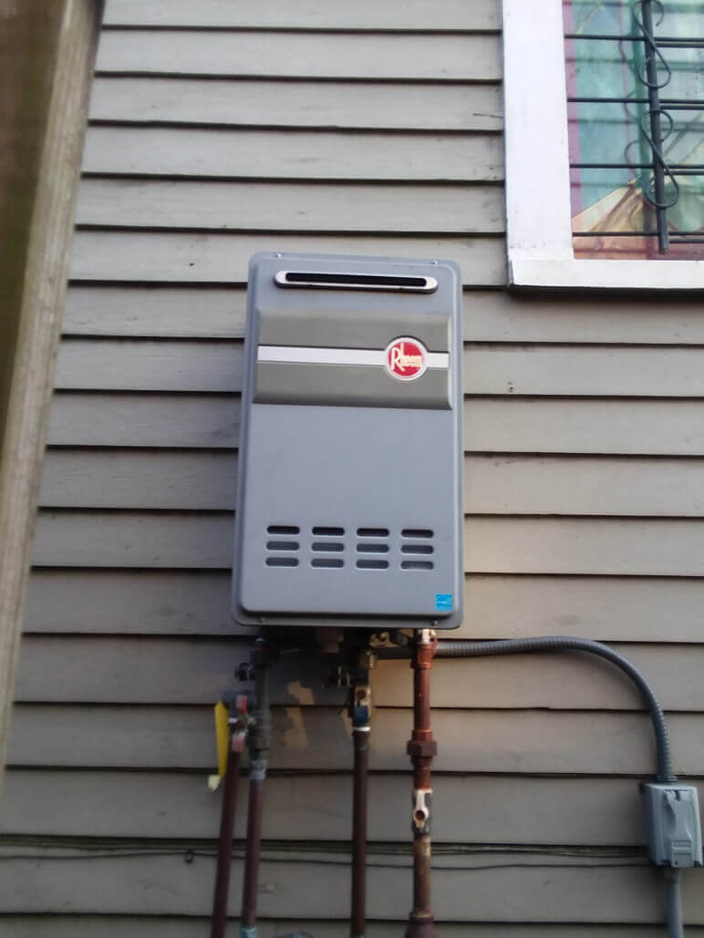 Tankless Water Heater Installation-National Economy Plumbers New Orleans